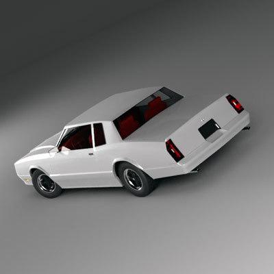 3d car monte carlo model