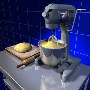 3ds max mixer bread 01