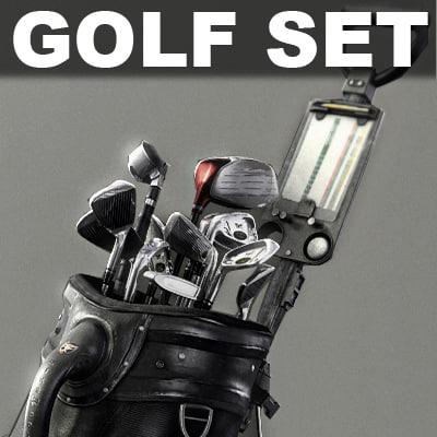3d complete tnt golf set