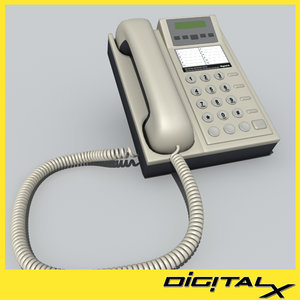 3d phone corded