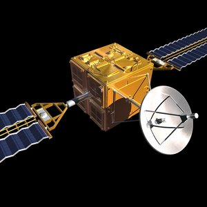 spacecraft 3d c4d