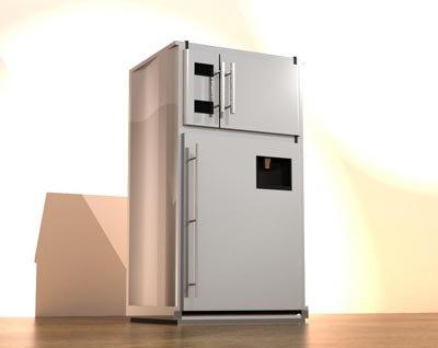 3ds max refrigerator