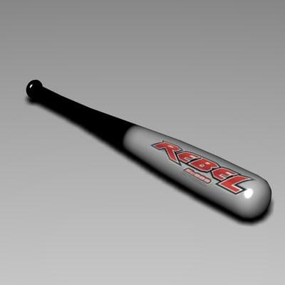 3d baseball bat 6