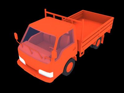 maya kia bongo truck