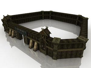 bailey games 3d model