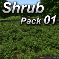 Shrub model pack 01