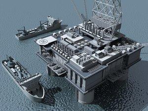 max oil platform ship