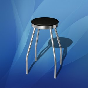3ds bar stool chair seat