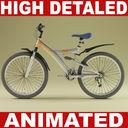 Mountain bike (Animated)