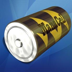3d d cell battery