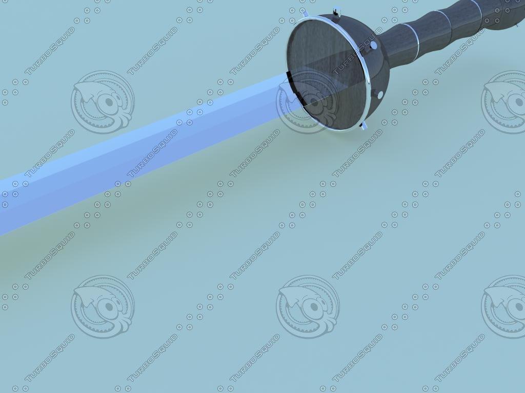 3d model swords gladiators
