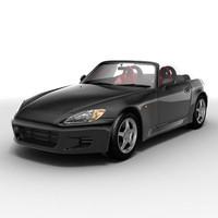 3d model honda s2000