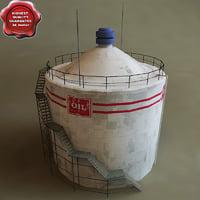 maya oil tank v1