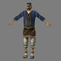 Lowpoly - Human Male - 3