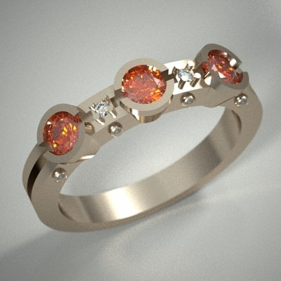 3d model diamonds stl