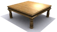 max antique lounge coffee table