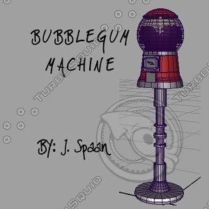 ma classic bubble gum machine