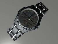3d watch model