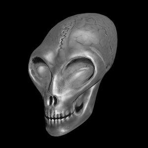 crystal alien skull 3ds