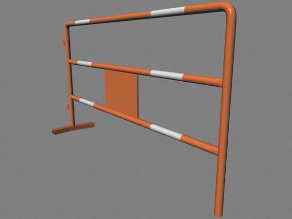 3d site barrier model
