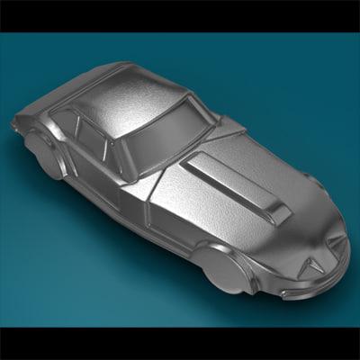3d metal toy car