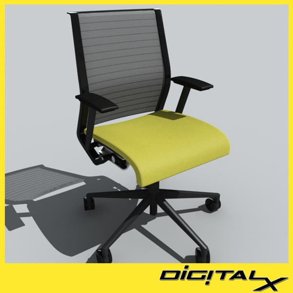3d think chair model