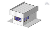 guardhouse revit 3ds