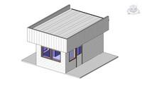 guardhouse revit 3ds