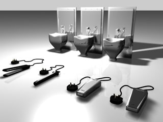 hair dressing equipment 3d model
