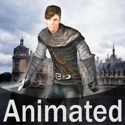 3d medieval theif