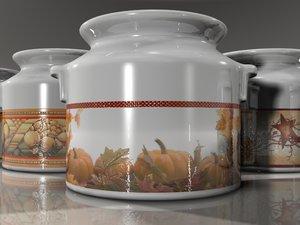3d model photo realistic milk jug