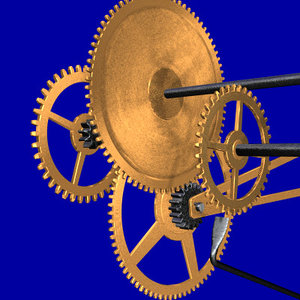 clock gears lws 3d lwo