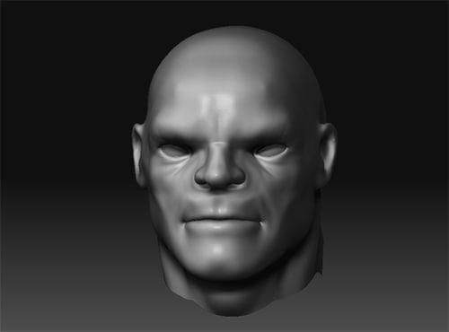 3d goon character model