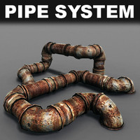 obj pipes rusted