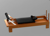 3d model pilates machine