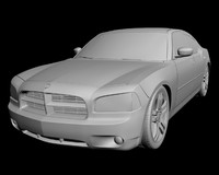 3d dodge charger 2006