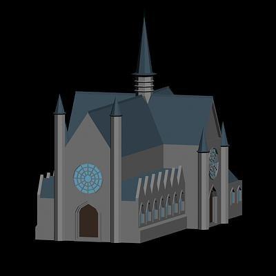 3dsmax zavelkerk church brussels