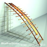 3d 3ds orthopaedic wall bars