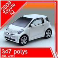 2009 toyota iq 3d model