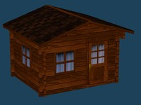 3dsmax cabin