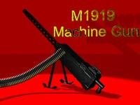 3d 30 machine gun model