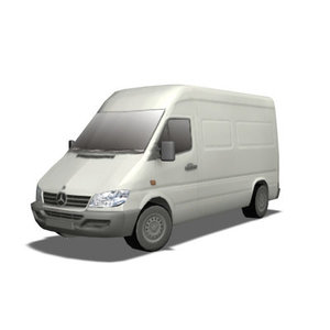 3d mercedez sprinter model