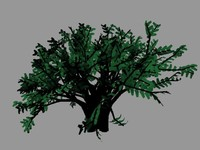 maya relastic tree