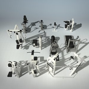 3d 12 precor fitness equipment model