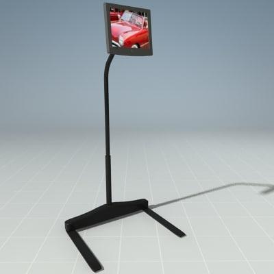 3d max screen precor personal viewing