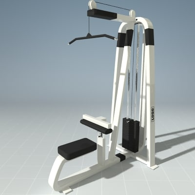 exercise pull machine precor max
