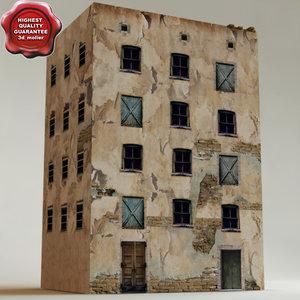 arab house v10 3d obj