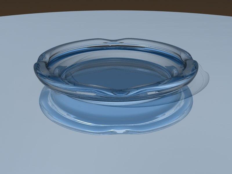 3d model ashtray