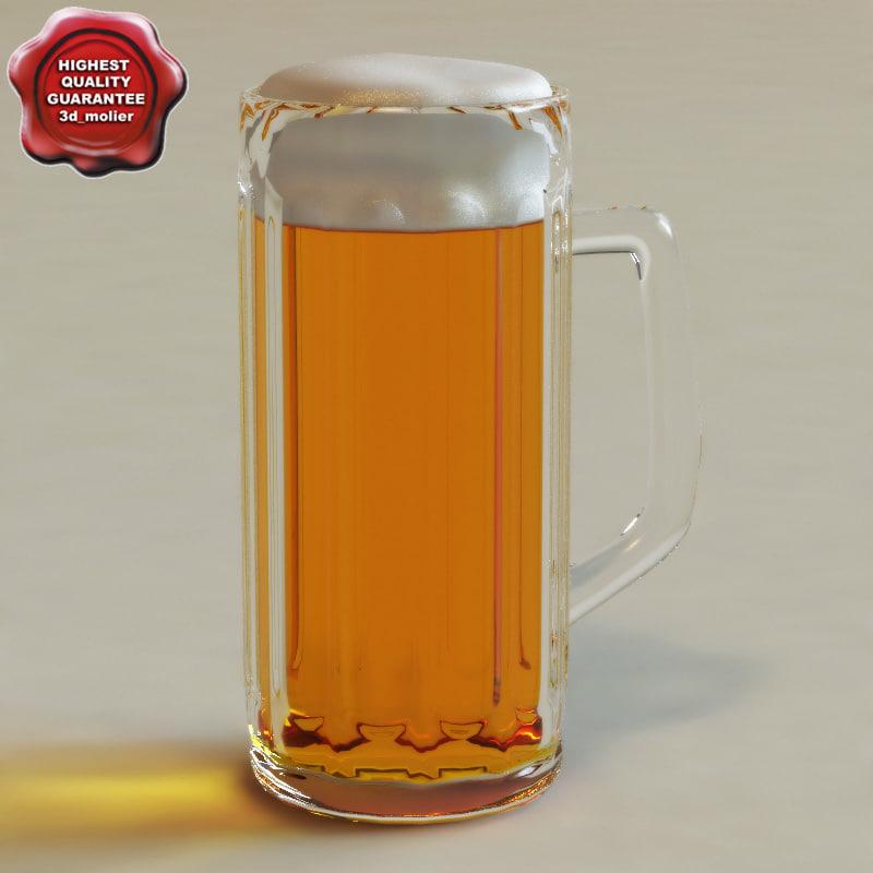 beer glass v2 3ds
