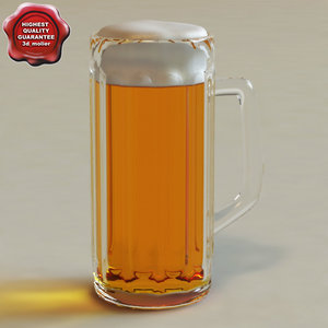 beer glass v2 3ds